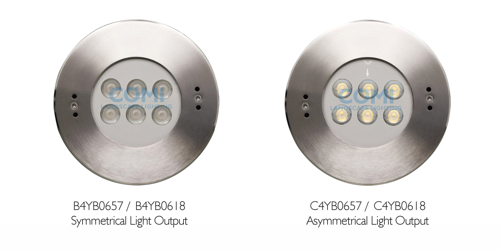 B4YB06-series sus 316 stainless steel IP68 LED pool lights