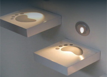 B1QR01-series Round Recessed LED Stair Lights Published