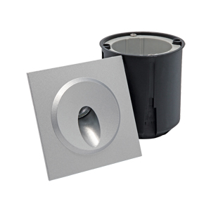 B1QS0102 B1QS0106 Mono or RGB Square Recessed LED Wall Lights