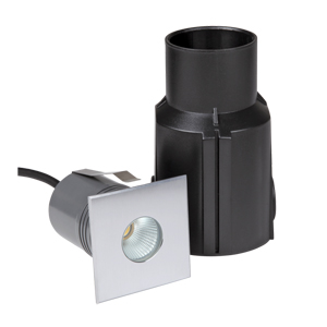 R2IS0125 1* 5W CREE COB LED IP67 Square Cover Inground Lamp