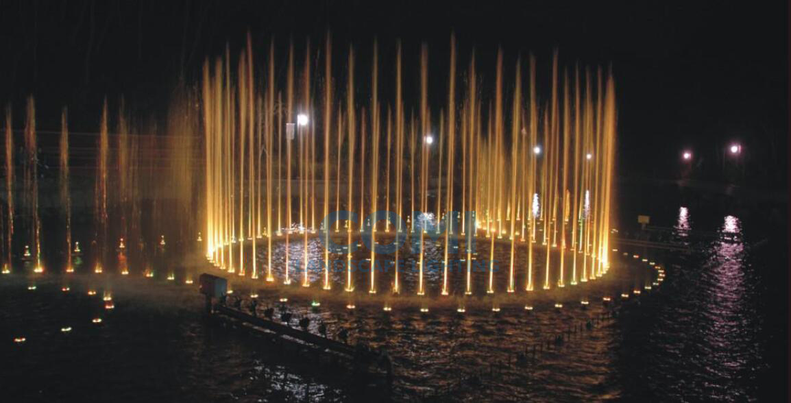 COMI Landscape lighting_LED Fountain light Application