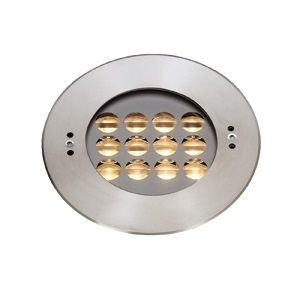 C4ZB1257 12x2W Wall Recessed Asymmetrical LED Pool Lights IP68