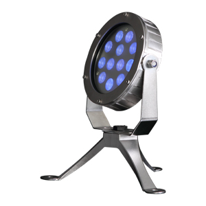 B5AD-Series 12x2W 316 Stainless Steel LED Underwater Floodlights
