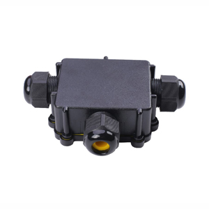 CL-M686-T 24A IP68 3-Way T-Type Junction Box IP68 Waterproof