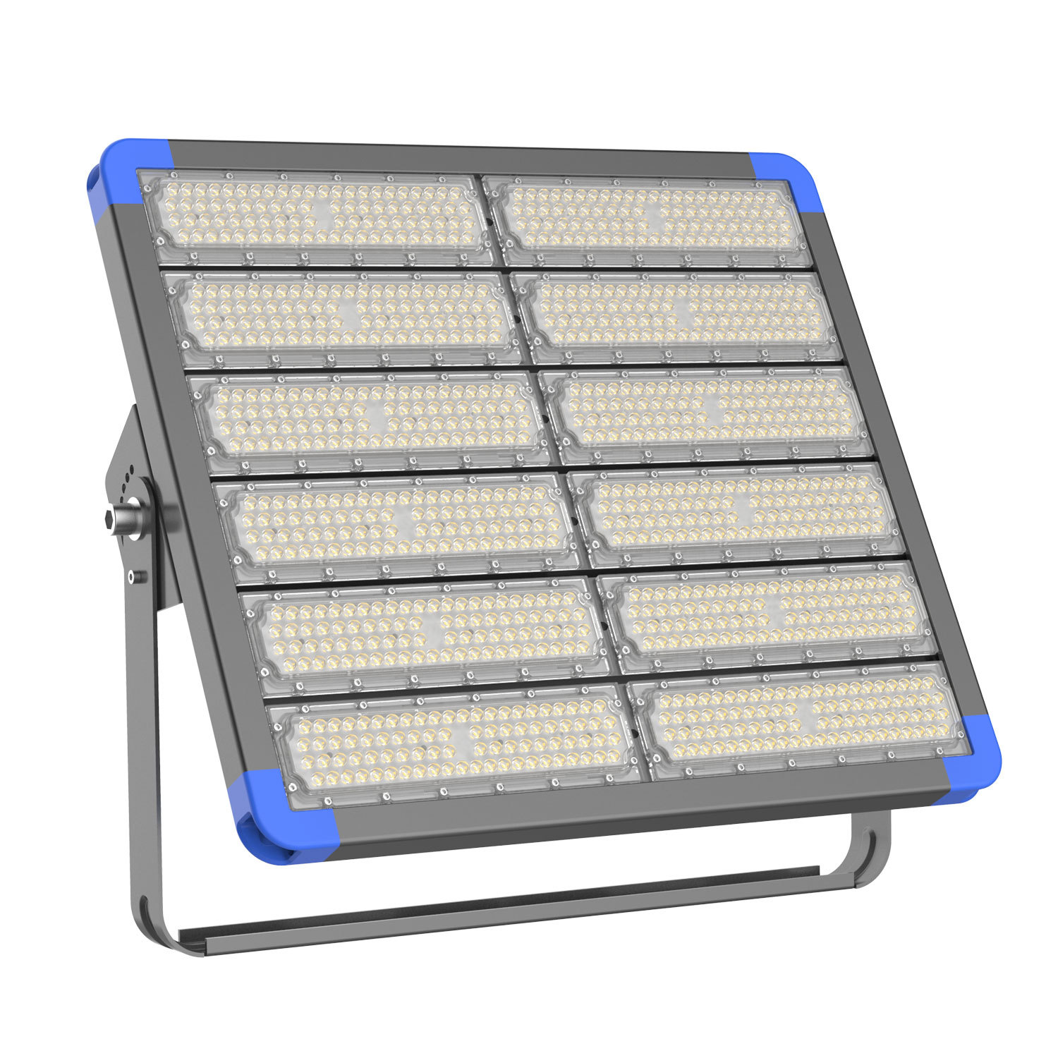 IP66 High Power 600W CRI80 LED Modular Tunnel Light With Bracket
