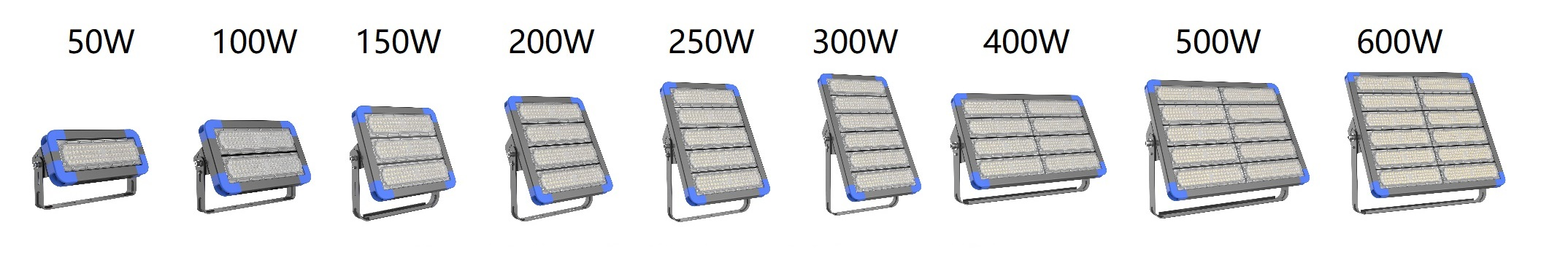 50-600W LED Tunnel light or floodlight_COMI LIGHTING_0