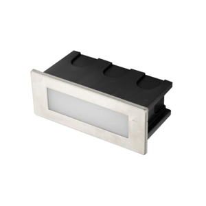 12VAC/DC or 220-240V 1.5W Wall Recessed Linear Stair Lights IP65