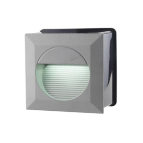 D1VTS1407 1.2W IP65 Wall Recessed LED Step Light 70LM