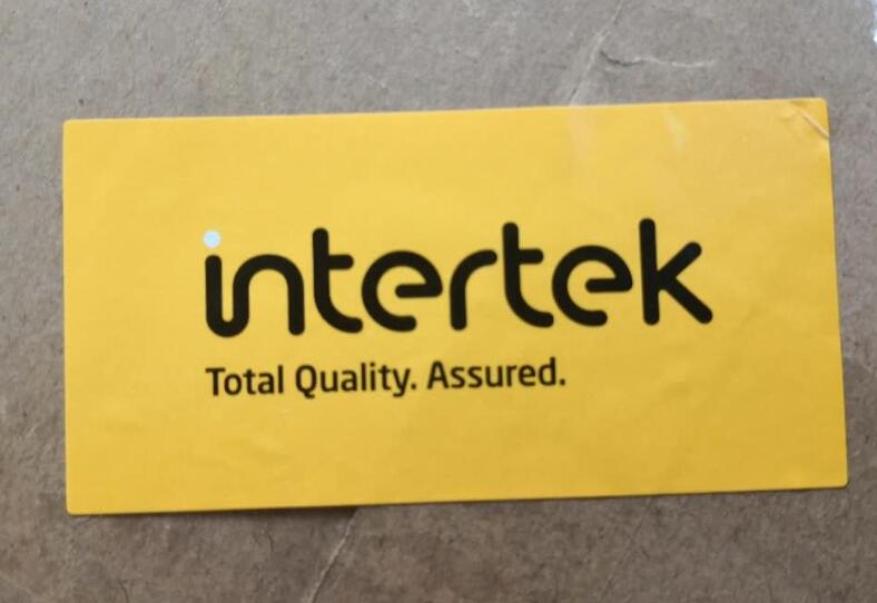 The Third Party--INTERTEK Inspect The Goods