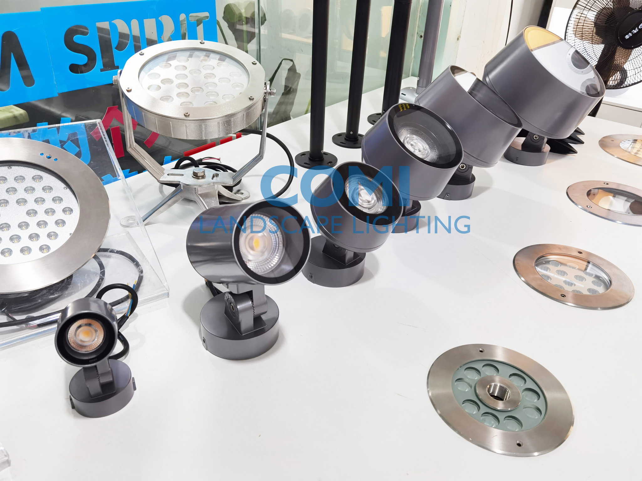 LED architectural and landscape projector_wall washer and flood  and spot lights and lens angle variable spotlight
